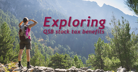 QSB stock offers two valuable tax benefits