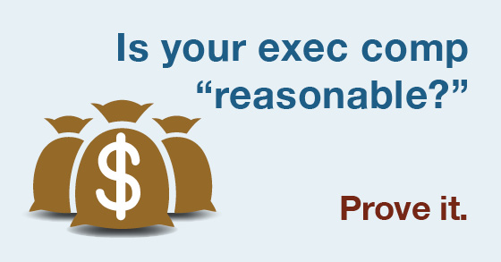 INFOGRAPHIC: Four tips to help ensure executive comp passes muster with the IRS