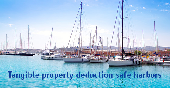Tangible property safe harbors help maximize deductions