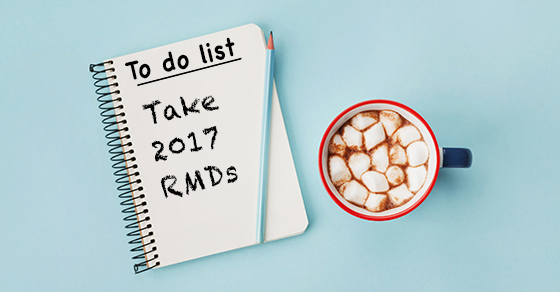 You may need to add RMDs to your year-end to-do list