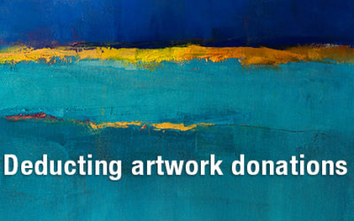 The tax deduction ins and outs of donating artwork to charity