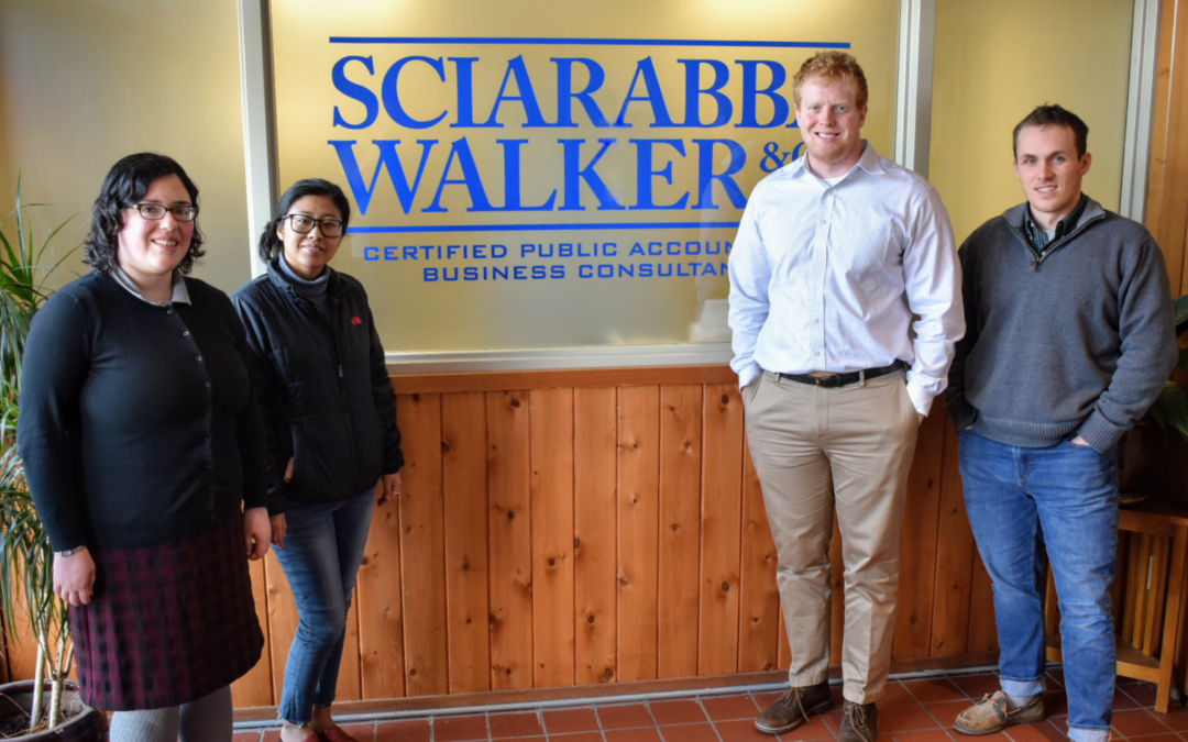 Sciarabba Walker Welcomes Four New Staff Members