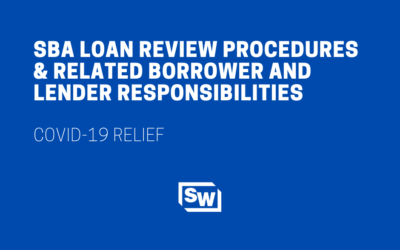 SBA Loan Review Procedures and Related Borrower and Lender Responsibilities