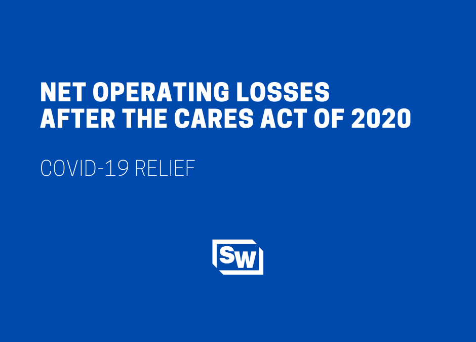 Net Operating Losses After the CARES Act of 2020