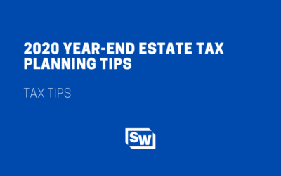 2020 Year-End Estate Tax Planning Tips