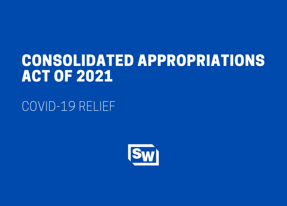 Consolidated Appropriations Act of 2021