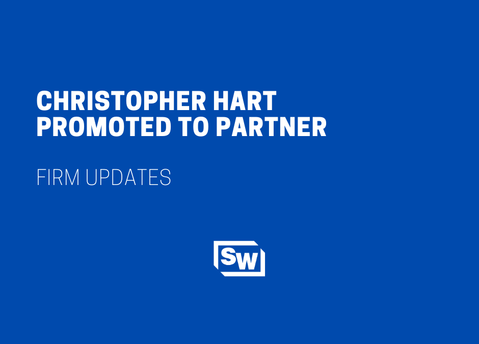 Christopher Hart Promoted to Partner at Sciarabba Walker & Co., LLP
