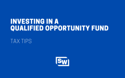 Investing in a Qualified Opportunity Fund
