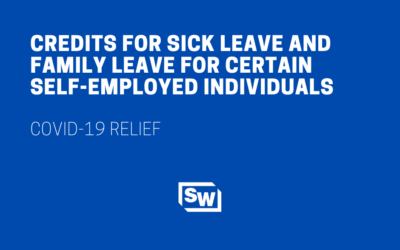 Credits for Sick Leave and Family Leave for Certain Self-Employed Individuals
