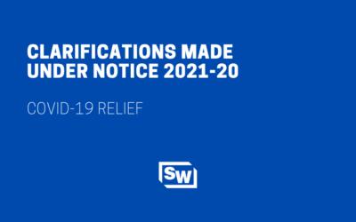 Clarifications Made Under Notice 2021-20