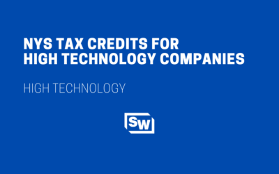 NYS Tax Credits for High Technology Companies