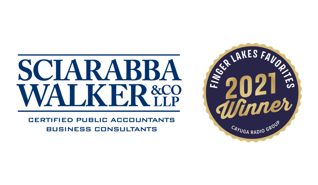 Sciarabba Walker Named Finger Lakes' Favorite Accounting Firm