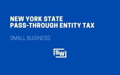 New York State Pass-Through Entity Tax